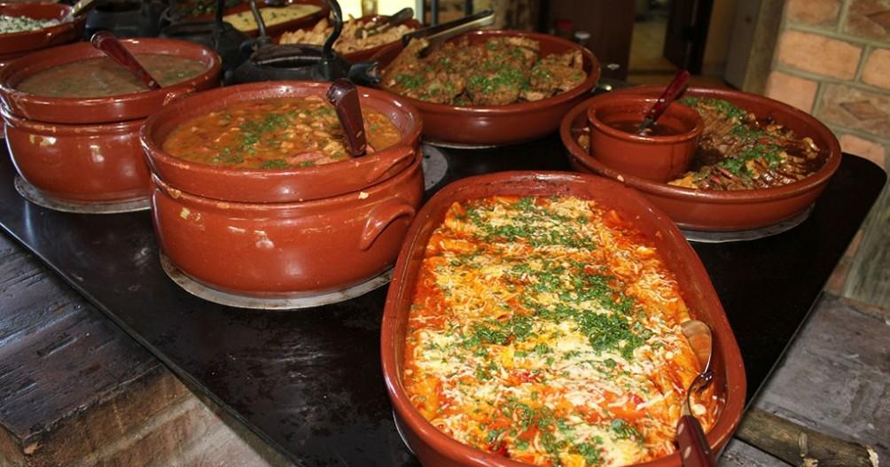 Restaurante Jacaúna - Hotel Fazenda SP