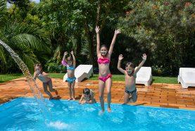 Crianças na Piscina | Hotel Fazenda Jacaúna