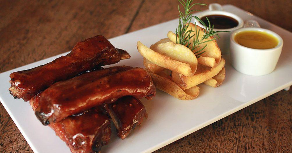 Restaurante Recanto Alvorada - Ribs na Canoa